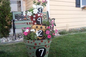 6 Curb Appeal Projects You Can Do With Your Kids Planter Pots Flower Pots Pots House