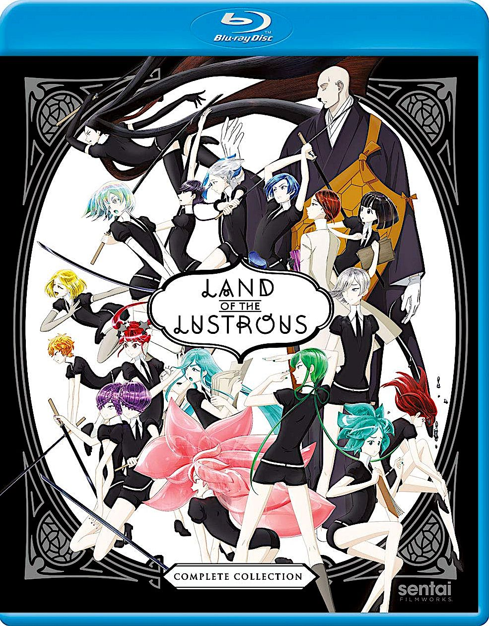 LAND OF THE LUSTROUS COMPLETE COLLECTION BLURAY SET