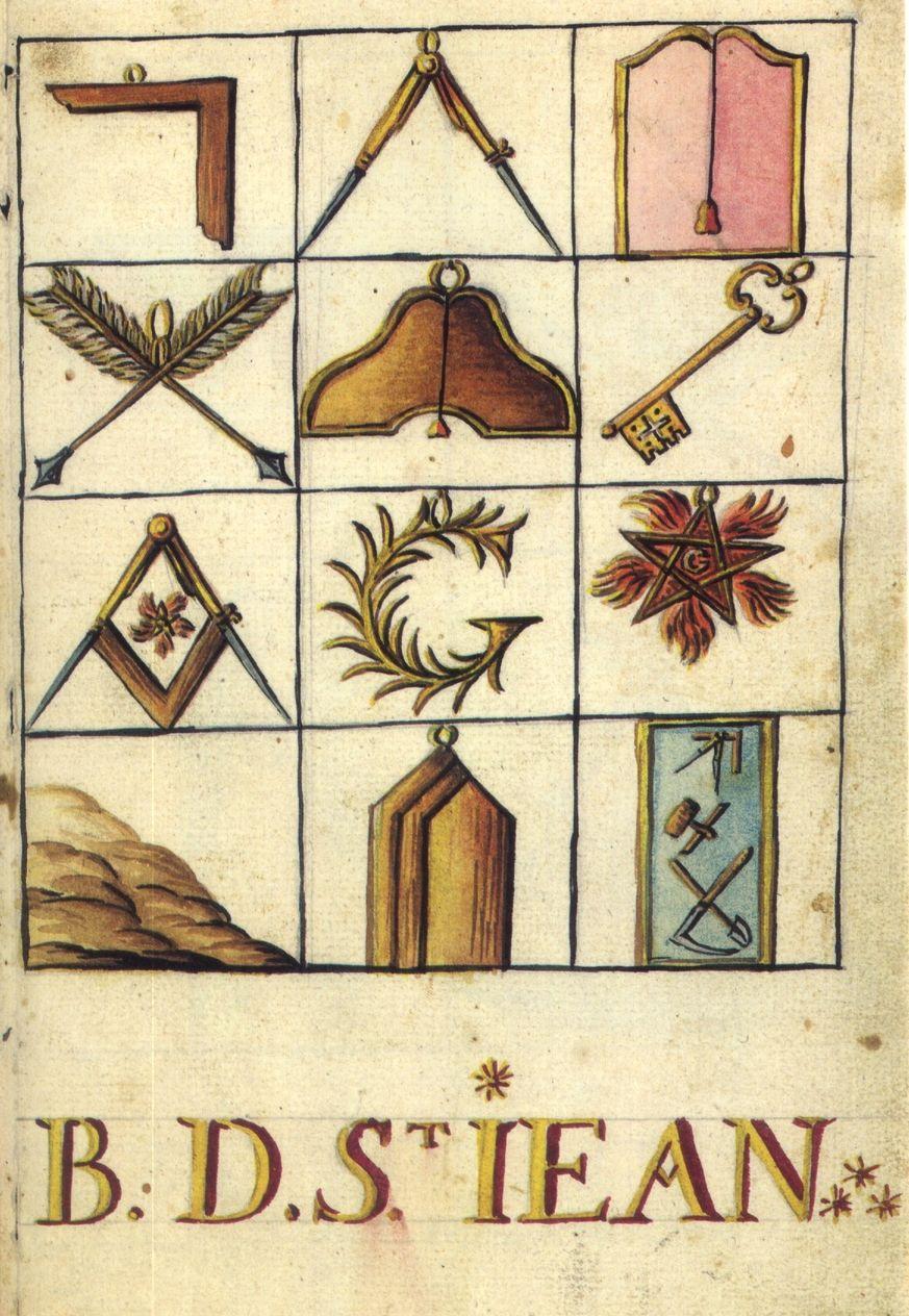 Mutus Liber Latomorum Masonic symbols, Masonic art