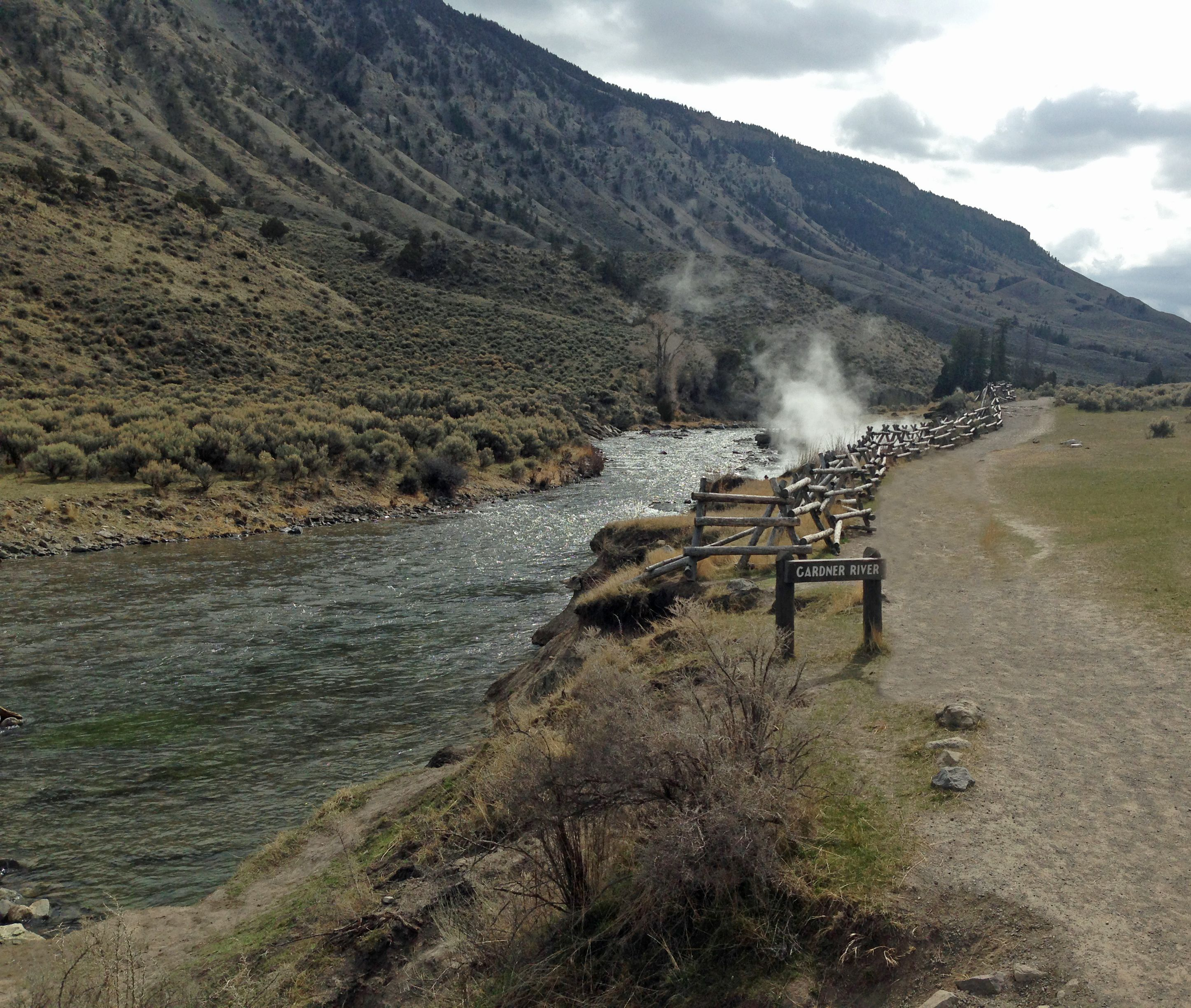 Places To Visit In Montana Usa: Visit Boiling River #bozeman