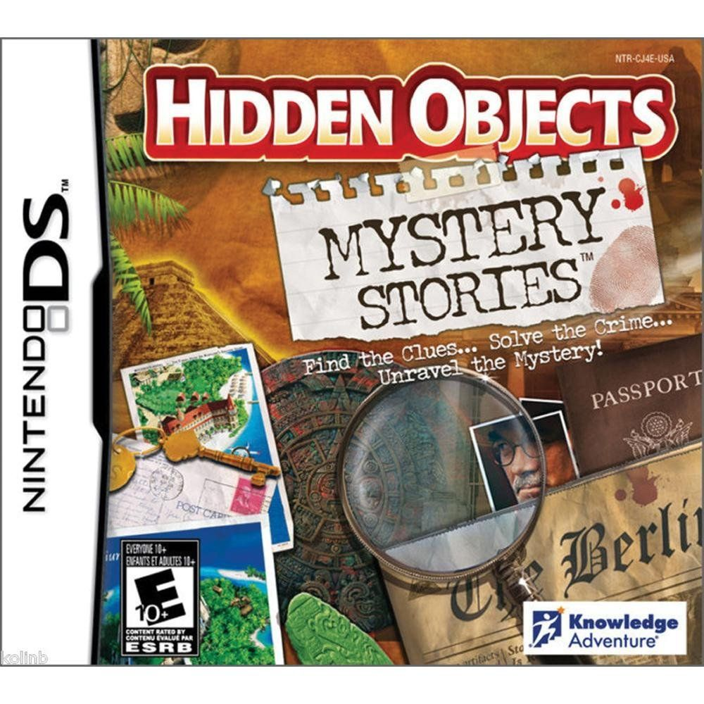 amazon com hidden objects mystery stories nintendo ds video