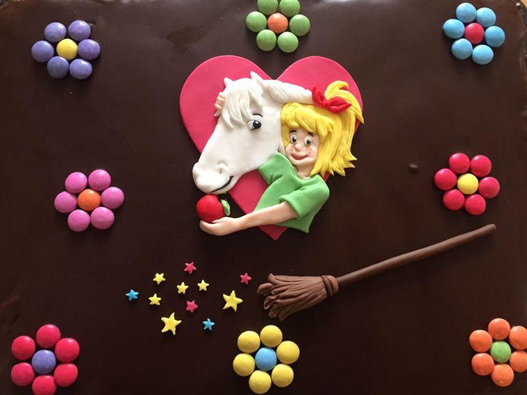 Bibi Blocksberg Tortenaufleger Kuchen Kindergeburtstag Tiere Bibi Blocksberg Torte Kindergeburtstag Rezepte