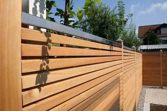 Holzzaun vertikal oder horizontal? Holzzaun, Holz shop