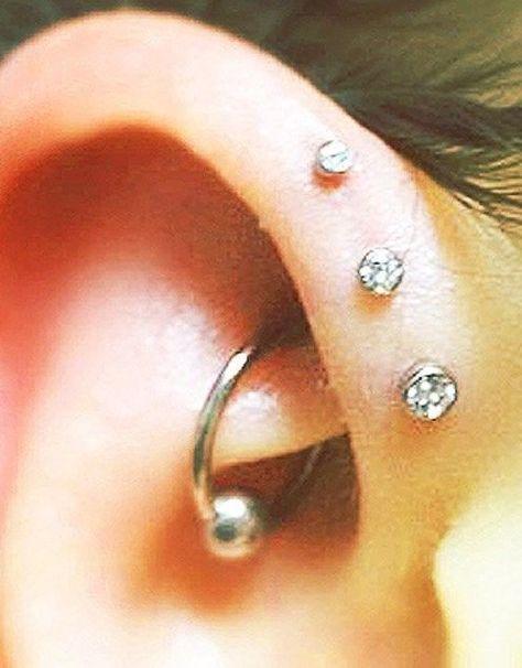 18g 5mm Post 2mm 2 3mm Cz Gem Cartilage Helix Ear Piercing Stud Earring Earstudearringmicroflatback