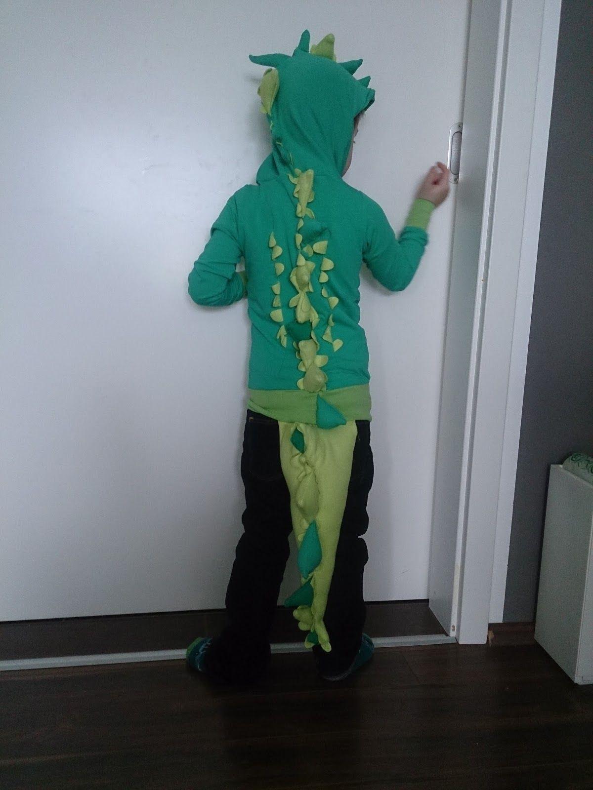 Nähen Krokodil Kostüm Fasching Karneval Verkleidung Tier Kind ...