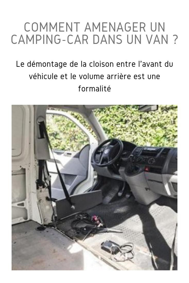 Transformer un véhicule utilitaire en campingcar