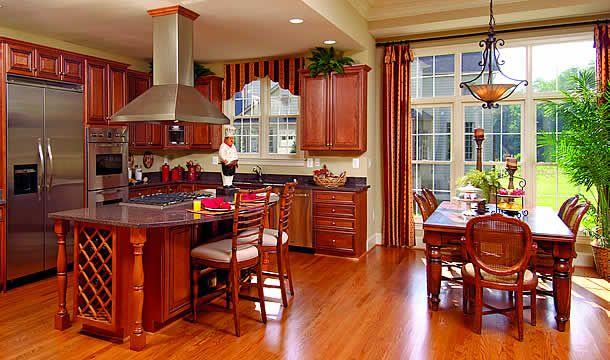 Superb An Edgemoor Model Interior From Craftmark Homes   Available At Clarksburg  Village!