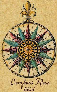 Compass Rose Antique Pesquisa Google Compass Art Compass Rose Art Compass Rose Tattoo