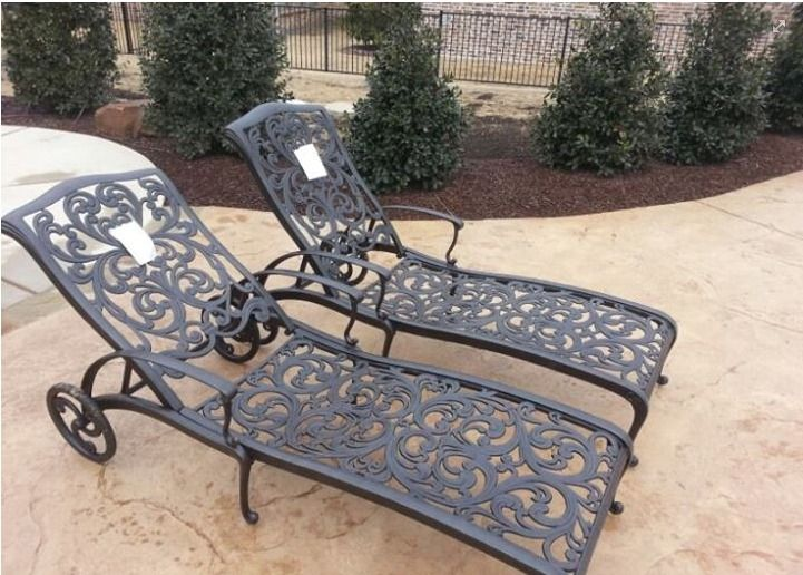 Grandview Chaise Lounge Chairs From Hanamint   Patio Furniture   Outdoor  Dining   Garden   Yard