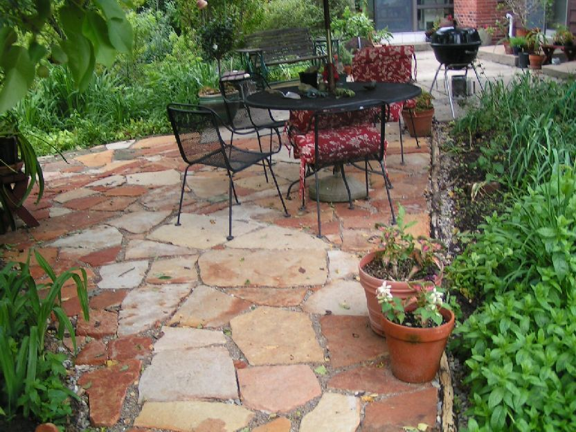 Flat Stone For Patio | Patio Pavers   Flagstone Steppers   Saint Louis MO