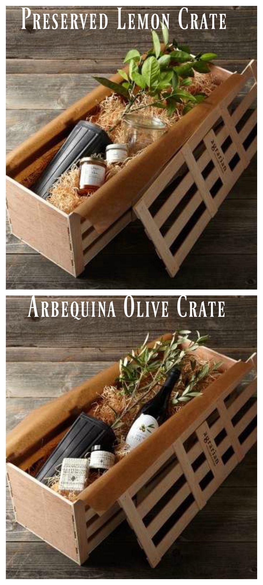 Williams Sonoma Gift Crates Gardening Ideas Basket Tree