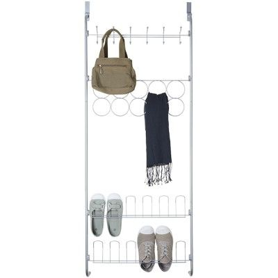 Armoire   Meuble chaussures Homekeeping - Meuble Chaussure Avec Porte Manteau