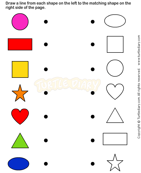 Shapes8 - math Worksheets - preschool Worksheets | Geometry ...