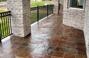 Future project landscaping ideas pinterest slate patio patio future project porch tilepatio ppazfo