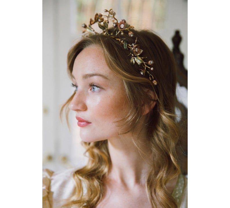 Ejemplo venta artículo Circe upright diosa boda corona No. 2286
