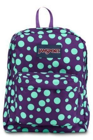 26b1f49ef8 JanSport SuperBreak  PolkaDots Cute Backpacks