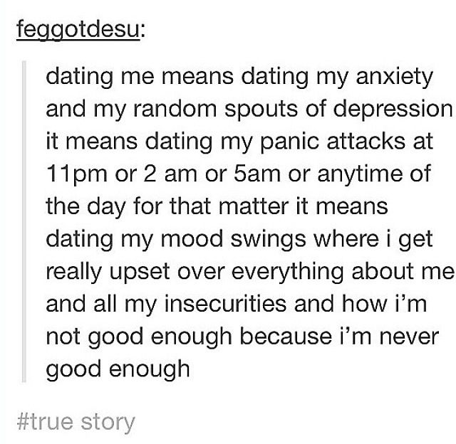 Dating someone with anxiety quotes
