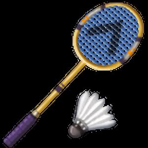 Badminton Racquet And Shuttlecock Shuttlecock Badminton Emoji