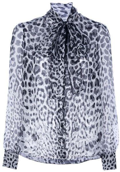 b16197d8 Leopard Print Blouse - Lyst | SEVENTIES FASHION STYLE | Mens tops ...