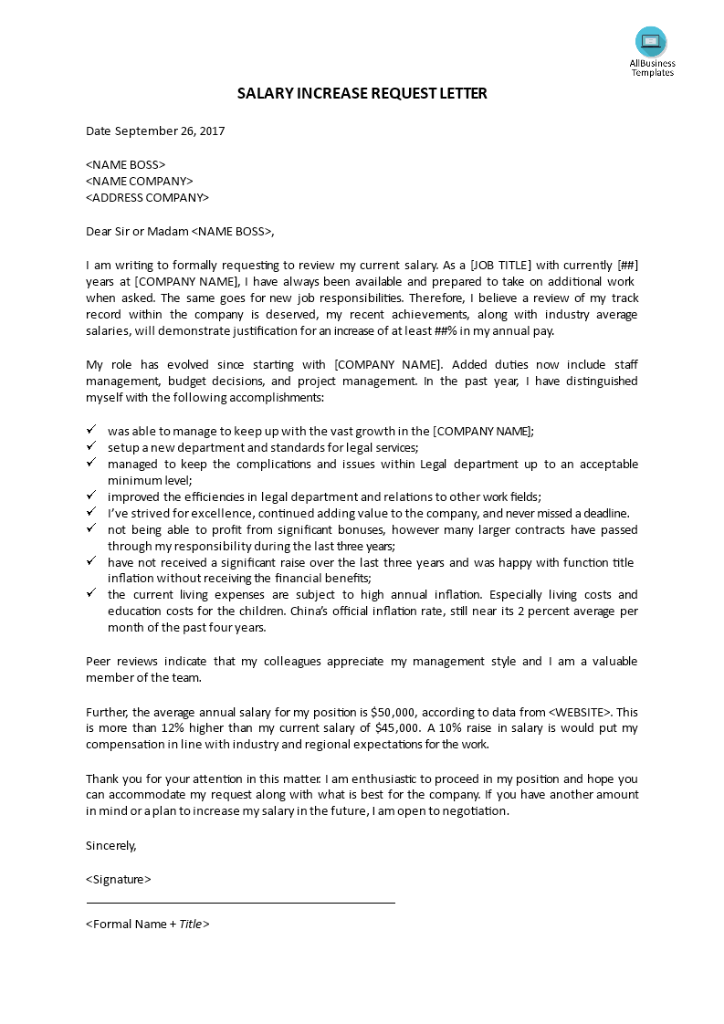 Sample Letter To Boss For Request from i.pinimg.com