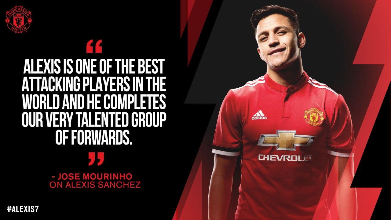 Manchester United Sport News Mourinho Explains Alexis Sanchez Signing Alexis Sanchez Jose Mourinho Man Utd News