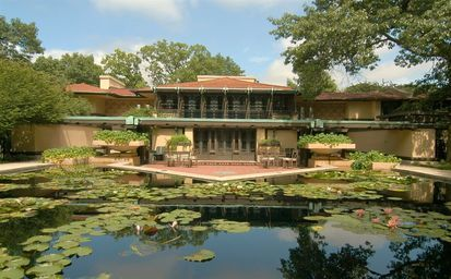 Frank Lloyd Wright's Avery Coonley House. Built 1908 - 1912 #History #DreamHome
