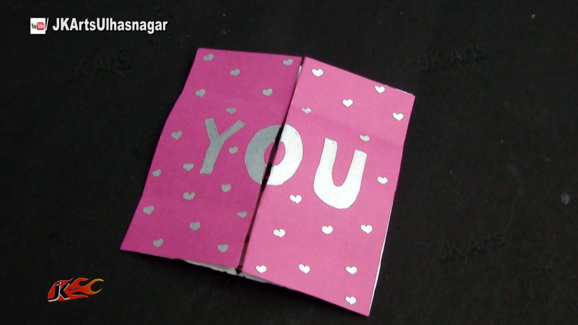 Easy endless love valentine card tutorial how to make jk arts easy endless love valentine card tutorial how to make jk arts 874 kristyandbryce Gallery