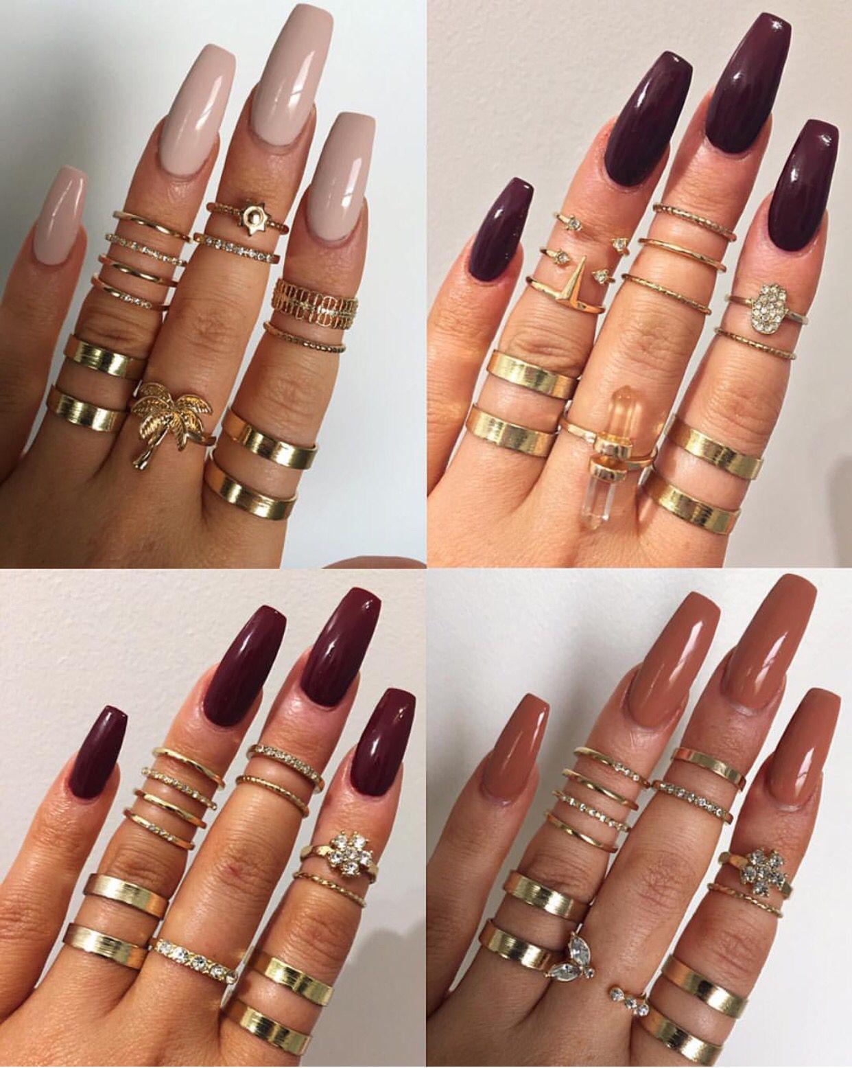 Ig Victoriaoliviaxo Fall Colors Pretty Nails Nails Inspiration Beautiful Nails