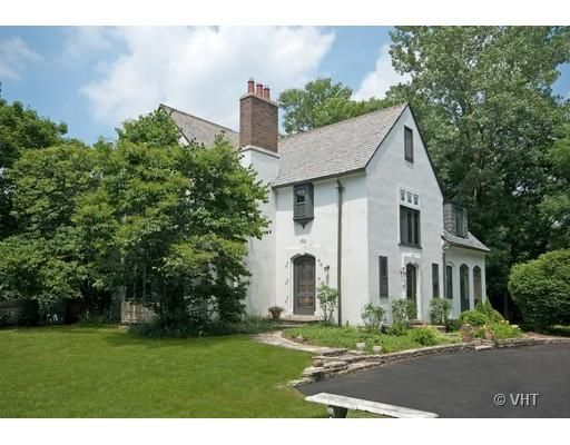 French Country With White Stucco Slate Roof House Exterior House Styles Architecture