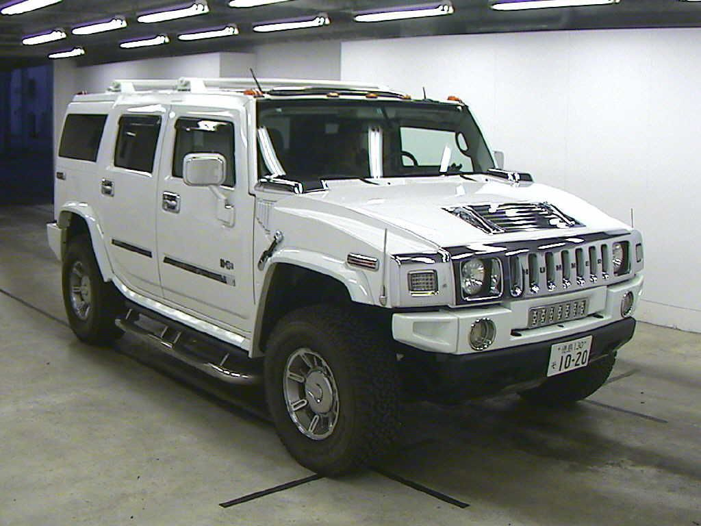 Buy Used Hummer Hummer H2 From Uss Kobe Japan