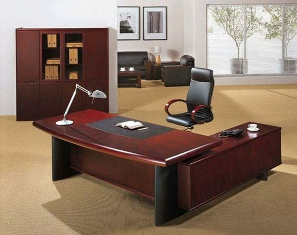 20 Executive Office Desk Designs From Wood Office Interior Design Modern Office Table And Chairs Office Desk Designs