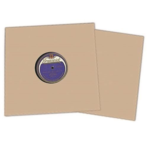 25 78rpm Brown Kraft Cardboard Jackets 10 Records Stiff Chipboard Sleeves 78 Vinyl Record Sleeves Vinyl Record Storage Vinyl Records Covers