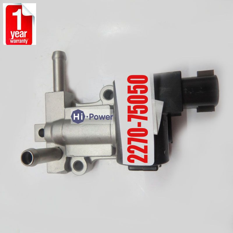 Idle Air Control Valve For Toyota 4Runner Tacoma 2.4 2.7L L4 IACV 2227075050 USA