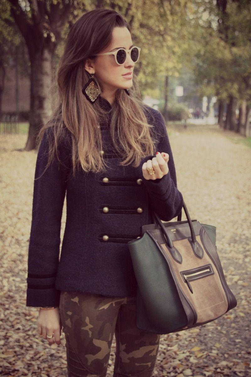 #fashion #fashionista Gresy Corriere della moda: Military