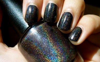 Black Galaxy Opi Nail Polish