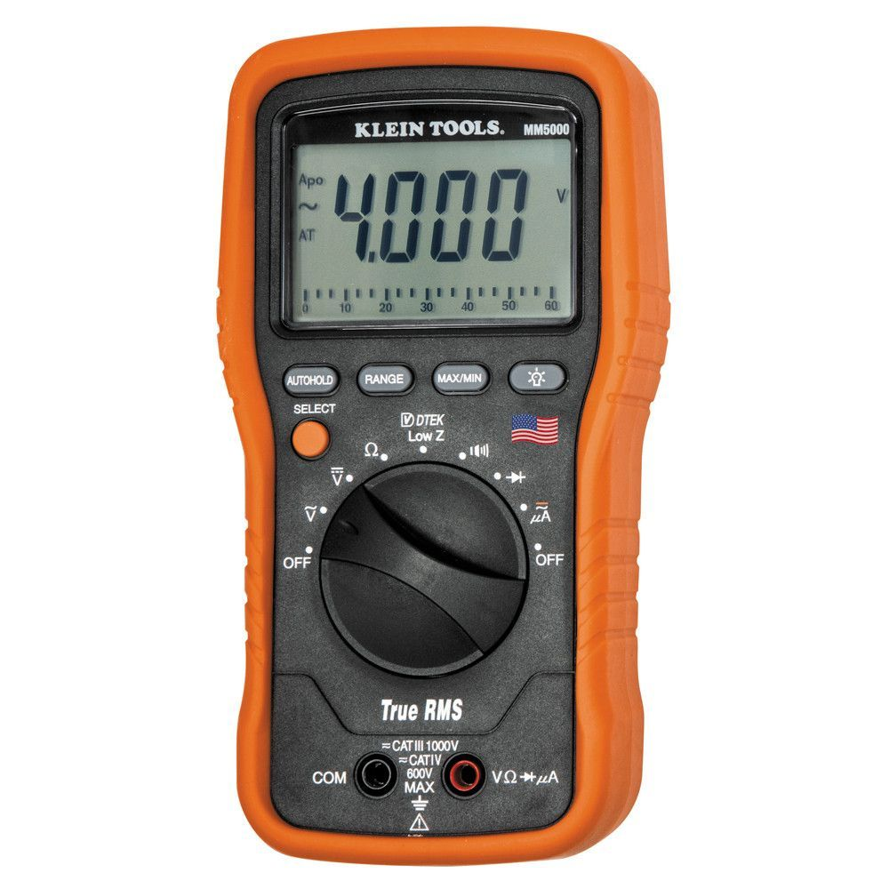 Klein Tools Electrician's TRMS Multimeter