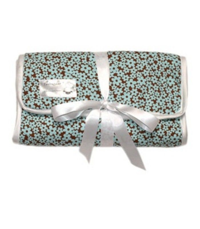 Small Blue Flowers Changing Pad  [TG-11]    $45.00