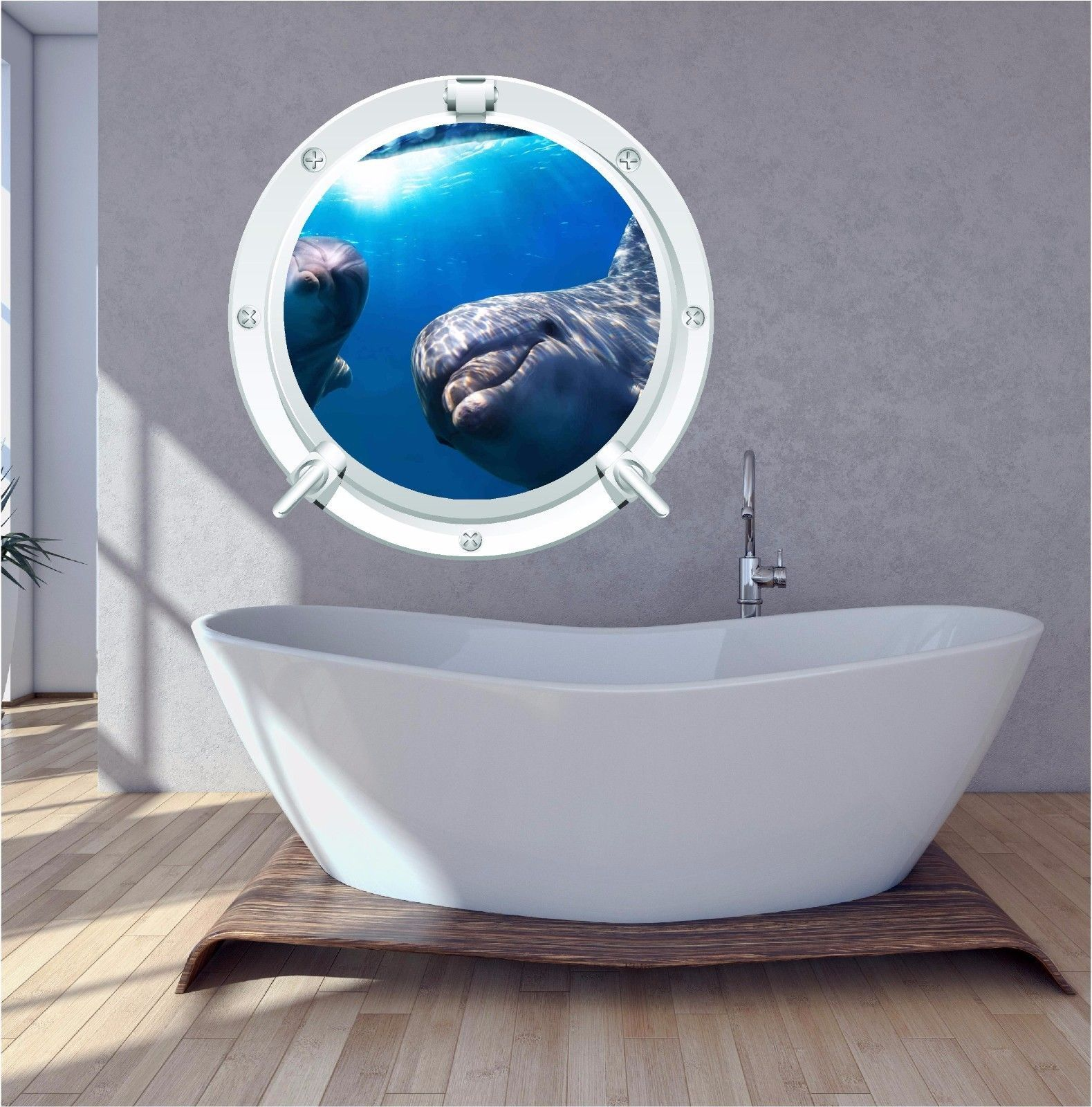 Uk Decal World Stencils Ebay Home Furniture Diy Dolphin Bedroom Wall Decals Dolphins