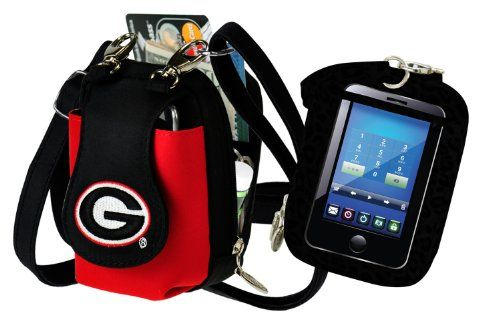 NCAA Georgia Bulldogs Purse Plus Touch | Sports | Georgia Bulldogs Fan Gear
