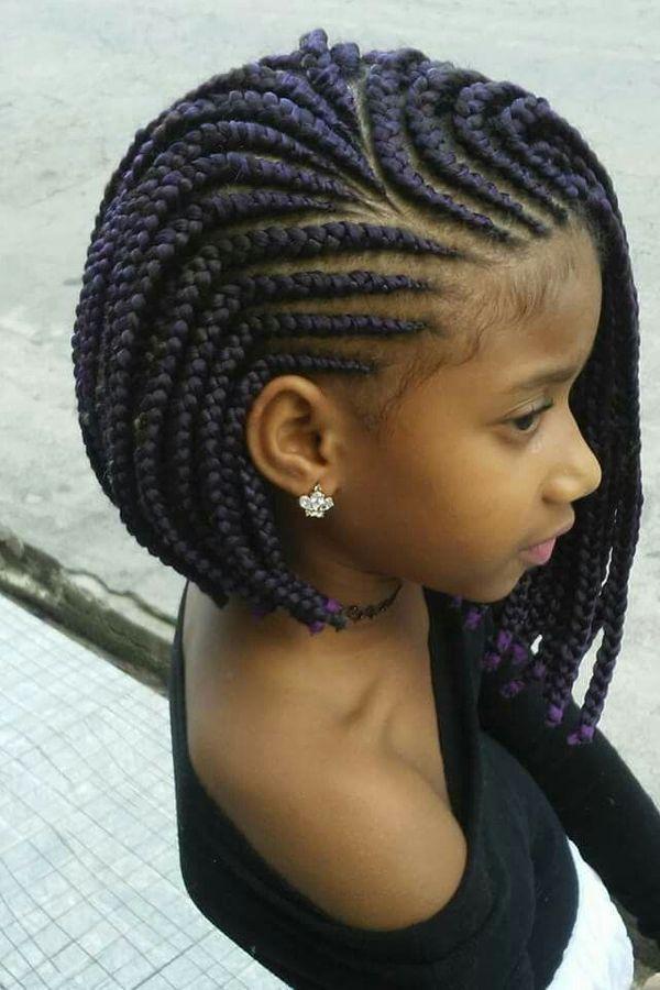 Beauty Black Hair Braid Hairstyle Short Hair Box Braids Cornrows Dreadlocks Black Ha In 2020 Braids For Black Hair Kids Braided Hairstyles Girls Hairstyles Braids