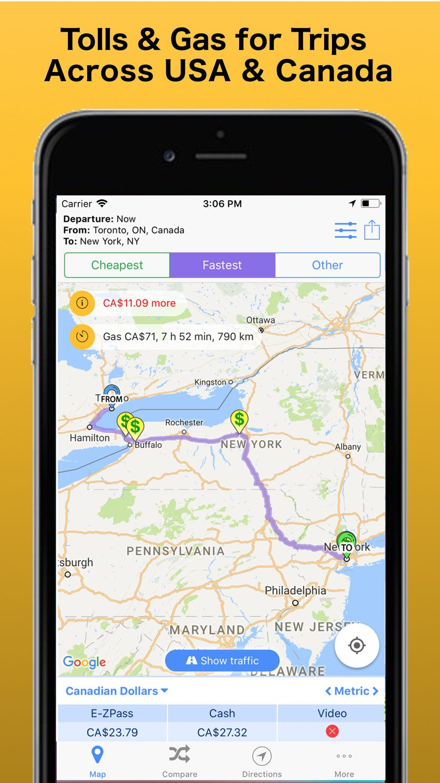 Truck route apple maps Most Popular