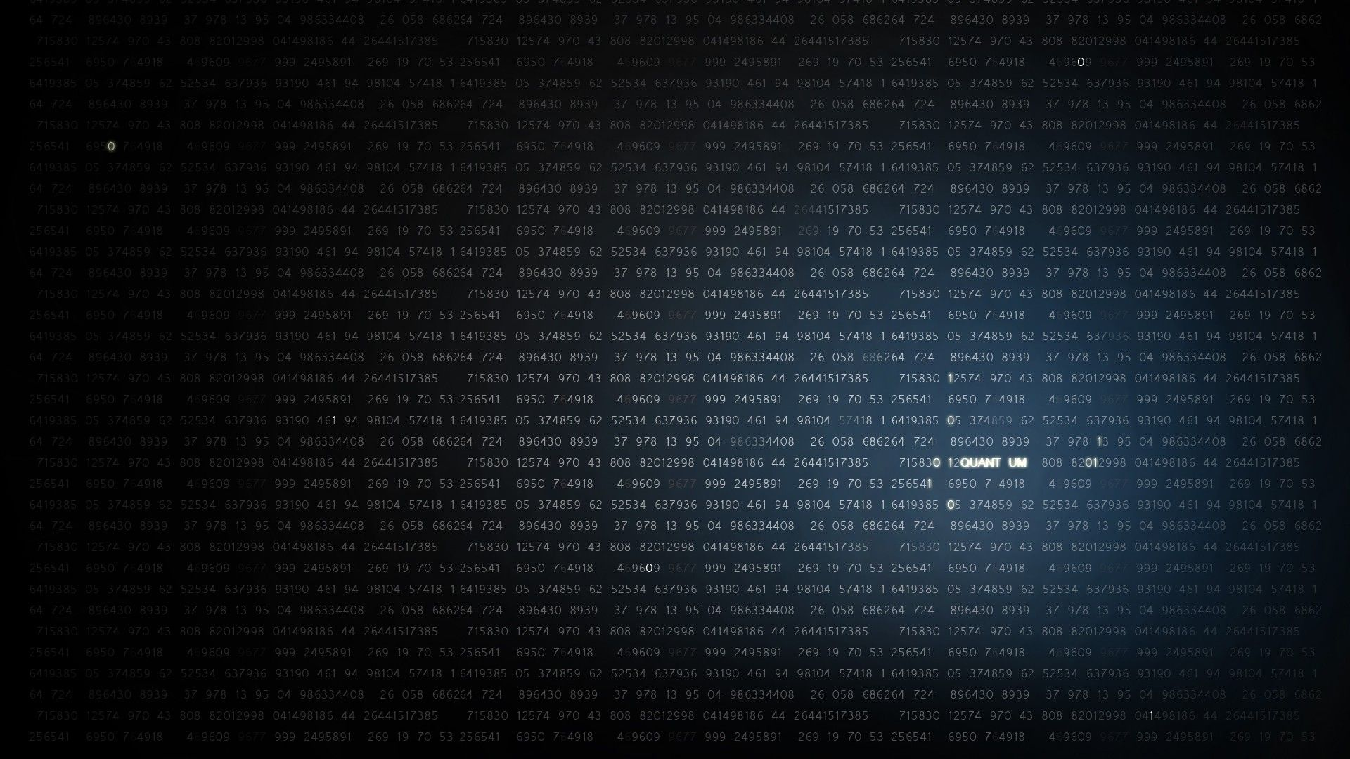 Abstract Rendering Code Matrix Style Wallpaper
