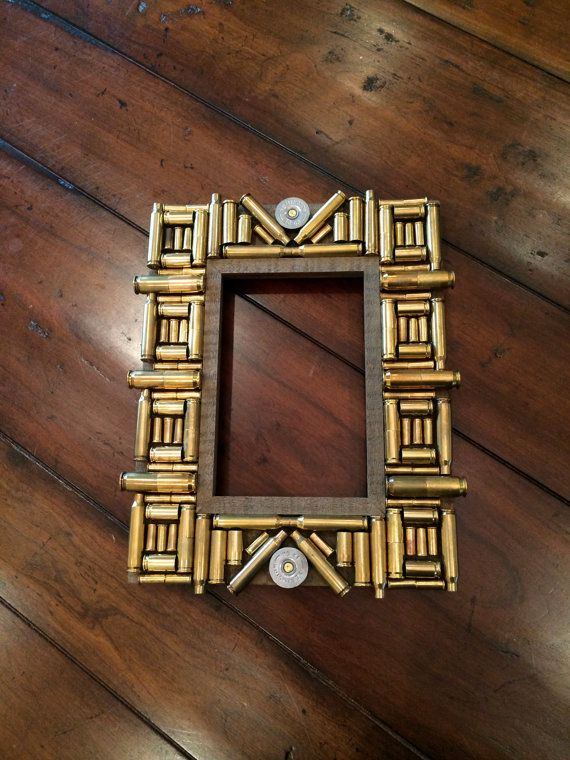 4x6 bullet casing frame by southernlegacyva on etsy 45 - Etsy Picture Frames