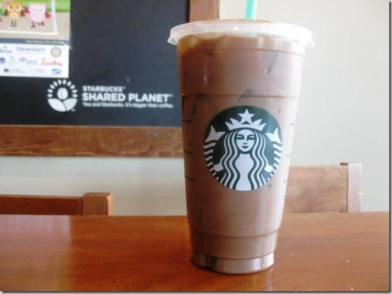Venti Iced Dirty Americano Espresso Water With 2 Pumps Mocha For Drumroll Only 1 Points I Added A Splash Of Half