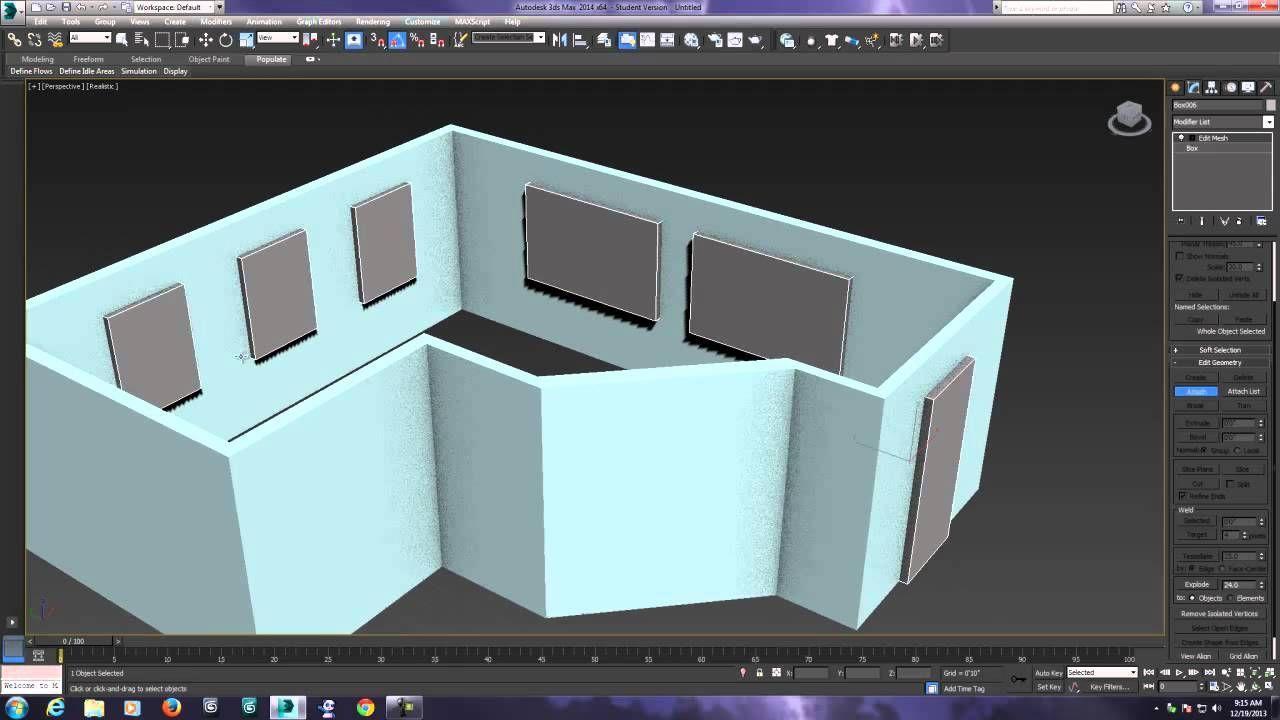 3ds Max 2014   Architectural Interiors   Part 1