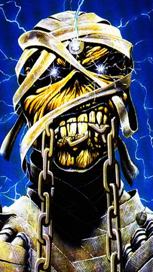 Iron Maiden Iphone Wallpaper Рокеры