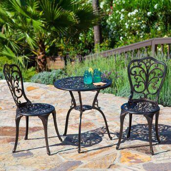 Florence 3 Piece Bistro Set Outdoor Bistro Set Bistro 400 x 300