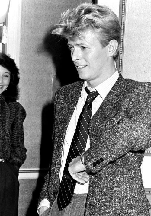 David Bowie, 1983. #music