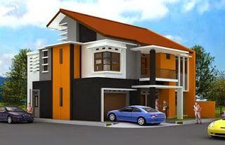 Contoh Paduan Warna Cat Tembok Rumah Yang Indah Dan Bagus Rumah