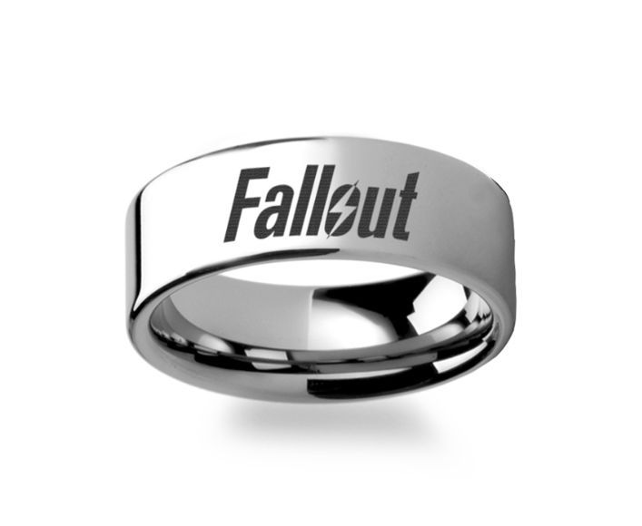 Fallout 4 Wedding Ring.Fallout 4 Tungsten Ring 4mm 12mm My Brothers Wish List Rings